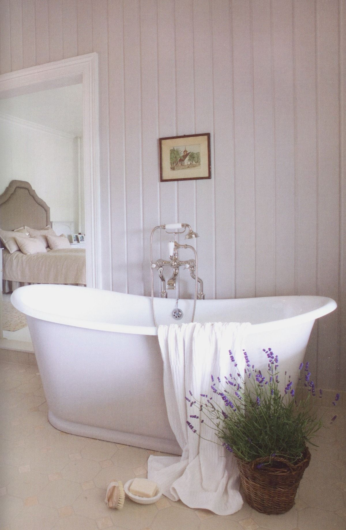 Pin by Dee Pounds on Rue de Jardin | Pinterest | Lavender, Bath and Tubs