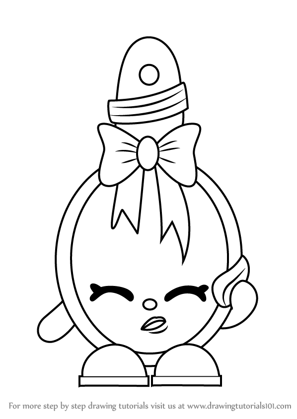 How to draw curly from shopkins drawingtutorials101 com