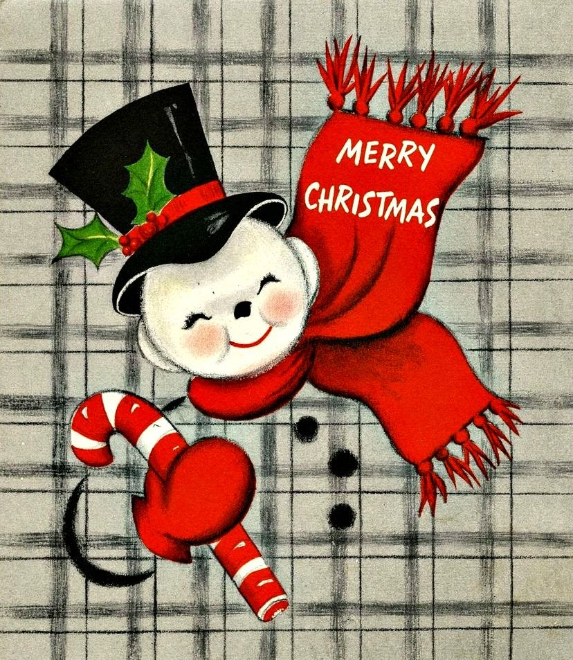 Pin by Lizzy's Garden on Snowmen Vintage christmas