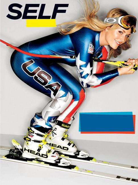 5.99 - 034 Lindsey Vonn - American World Cup Alpine Ski Racer 14
