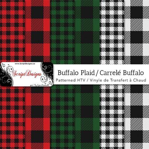 Buffalo Plaid Patterned Htv 6 Designs Buffalo Plaid Pattern Patterned Heat Transfer Vinyl Heat Transfer Vinyl Projects