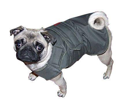 Pug Coat Winter Dog Jacket With Underbelly Covering Dog