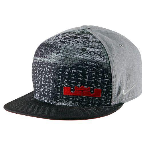 b6a8b11cf1c2 ... low price nike lebron rubber city true snapback hat 729496 012 finish  line 28c6f 169cd