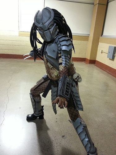 Predator Costume For My 10yr Old Daughter Con Photos For J And