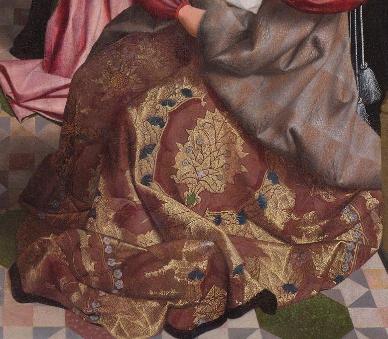 Geertgen tot Sint Jans, The holy kinship (detail), circa 1495, Museum Boijmans Van Beuningen.