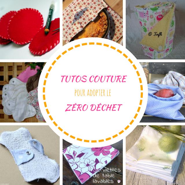 Pour Couture 10 Tutos Déchet Adopter De Base Zéro Le Nn0OP8Xwk