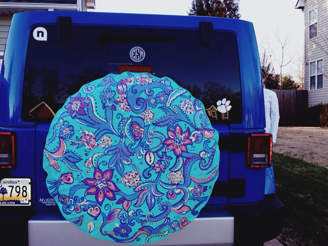 Lilly Pulitzer Tire Cover Jeep Wrangler Tire Covers Jeep Tire