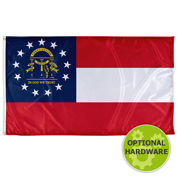 Georgia State Flag For Sale Vispronet State Flags Georgia State Flag