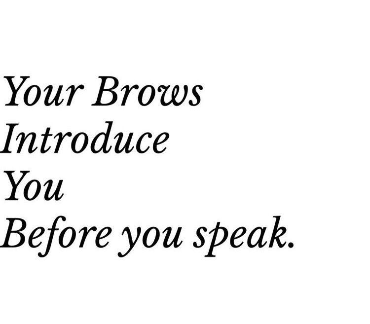 Eyebrows Brow Quotes Microblading Eyebrow Quotes