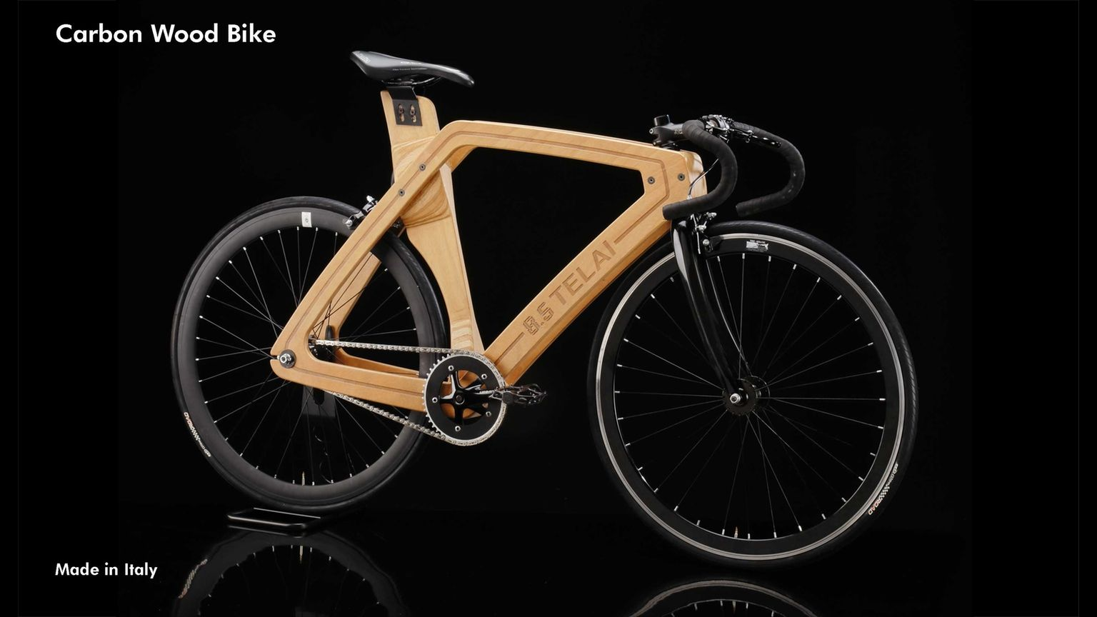 Custom Made Wooden Bike Designed And Built In Italy Light Weight