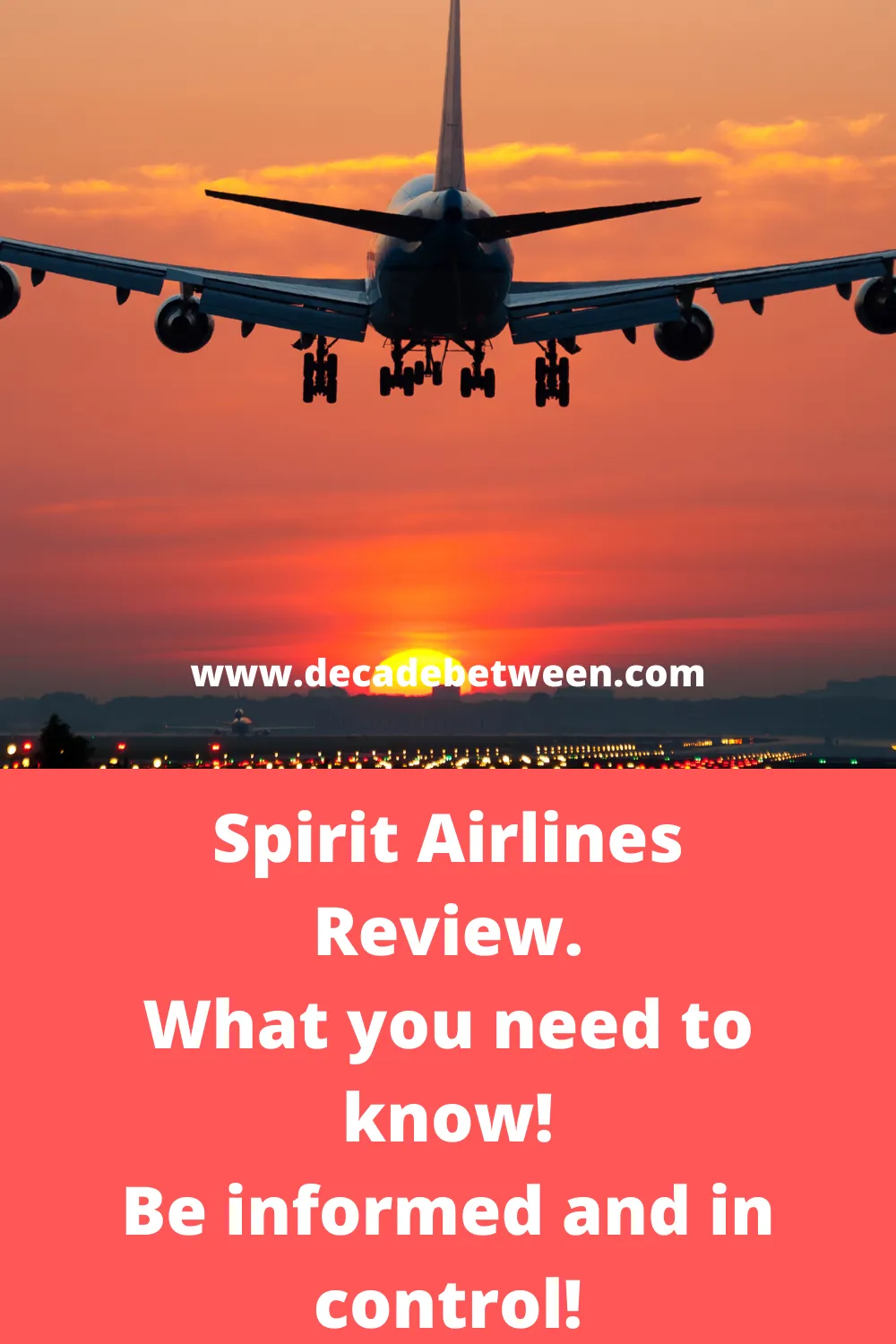 Spirit AirlineReview of the airlines and my flight from