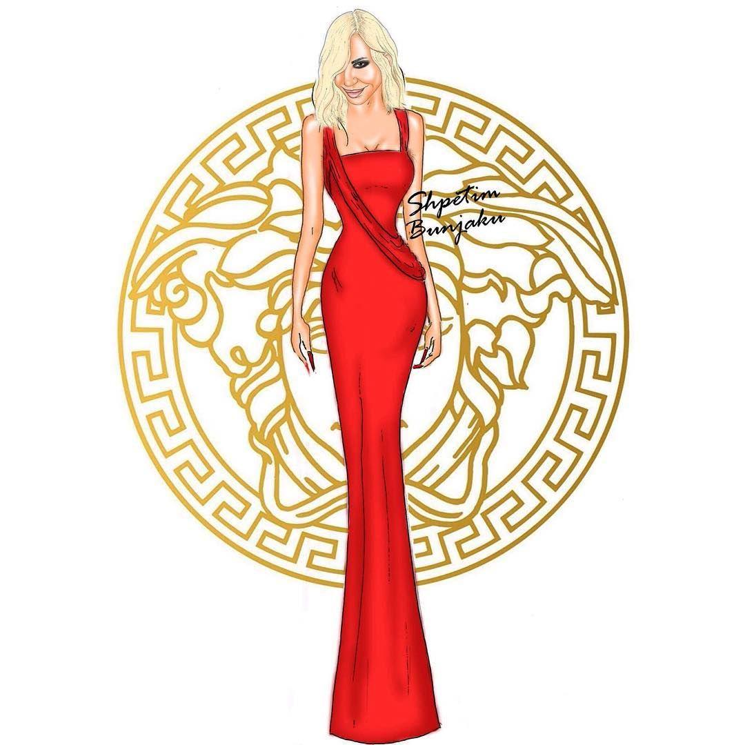 Shpetim Bunjaku On Instagram Fashion Goddess Donatella Versace