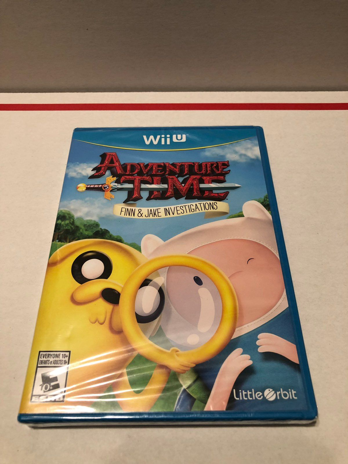 Check Out My Adventure Time Finn Jake Investigation Wii U Game