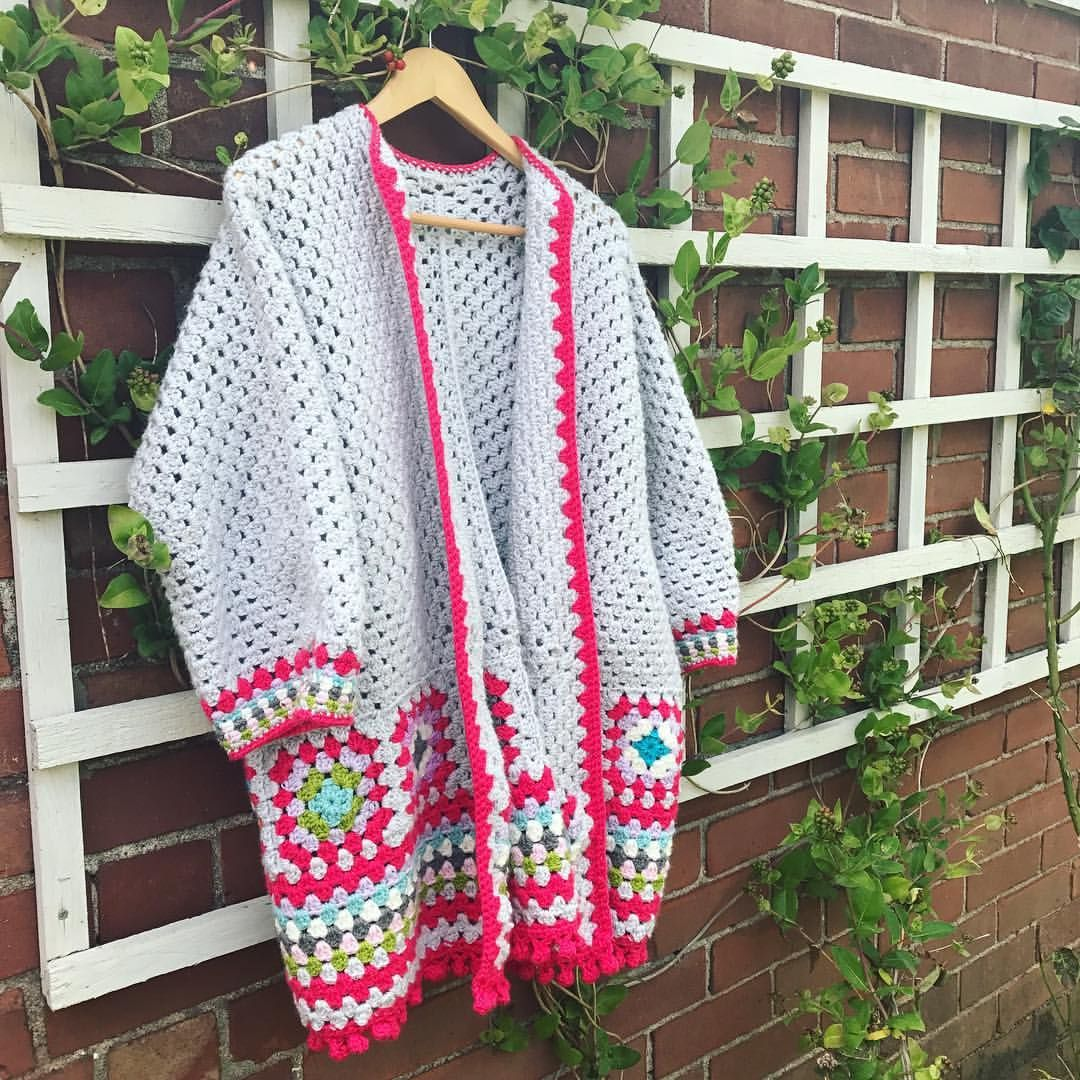Love this gorgeous gorgeous Granny Hexi Cardi Hexagon Cardigan by ...