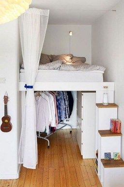 20+ Cool Storage Solutions For Small Apartment | Loft ...