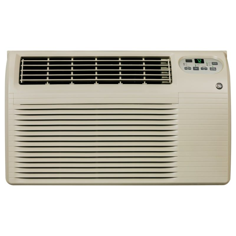 Ge 8200 Btu 115v Through The Wall Air Conditioner W 3900 Btu Heater Remote Control Ajeq08acf Air Conditioner Heater