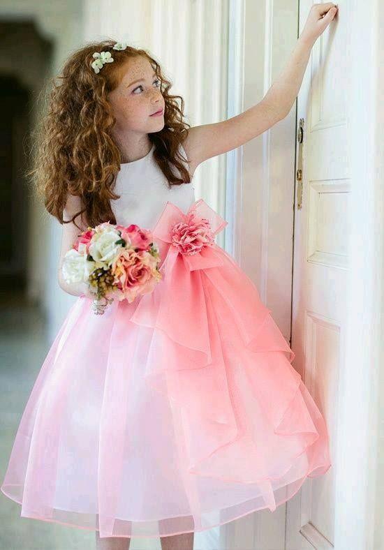 vestido de fiesta para niña | textil | Pinterest | Vestidos de ...