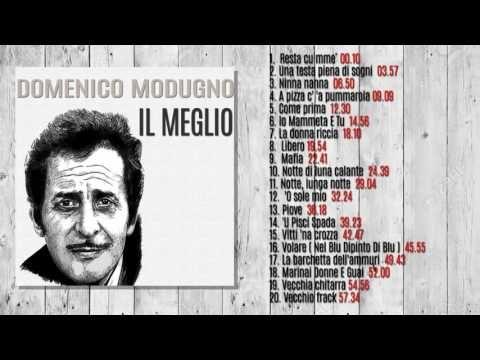 Domenico Modugno - IL MEGLIO (ALBUM COMPLETO)