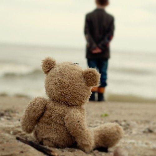 radostina:    Teddy and little man