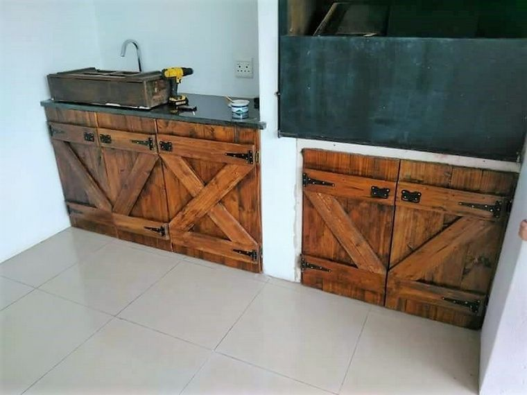 Easy Ideas For Reclaiming The Used Shipping Pallets. Recycled PalletsWooden  PalletsPallet CabinetShipping ...