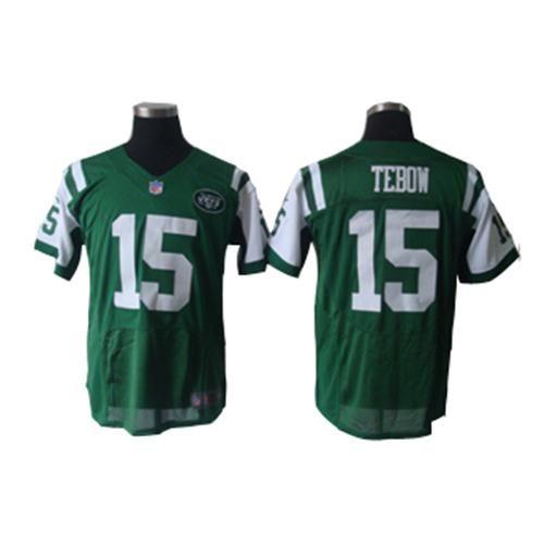 f9051aa5a Jets  15 Tim Tebow Green Elite Nike NFL Jersey ID 997100331 23 ...