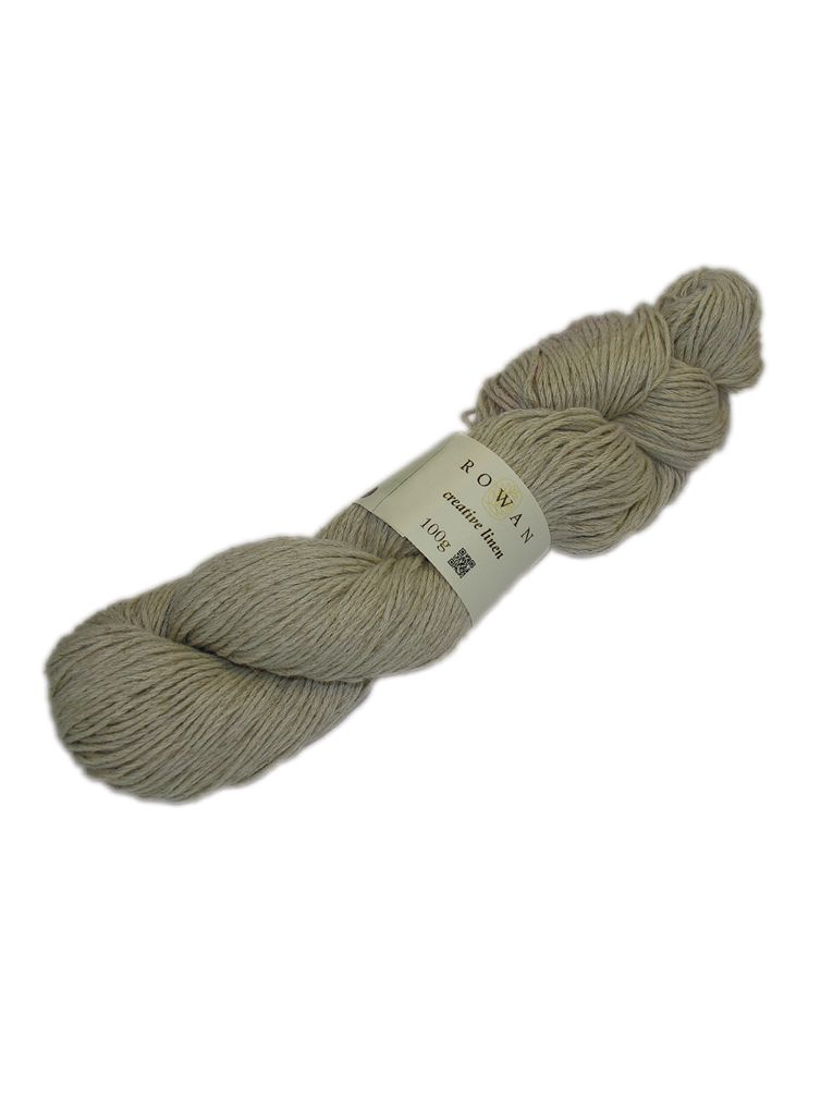 Creative Linen - A lovely dry handle summer yarn in a blend of 50% Linen and 50% Cotton, the Creative Linen is soft to wear.