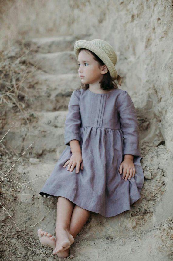 25+ Girls linen dress information