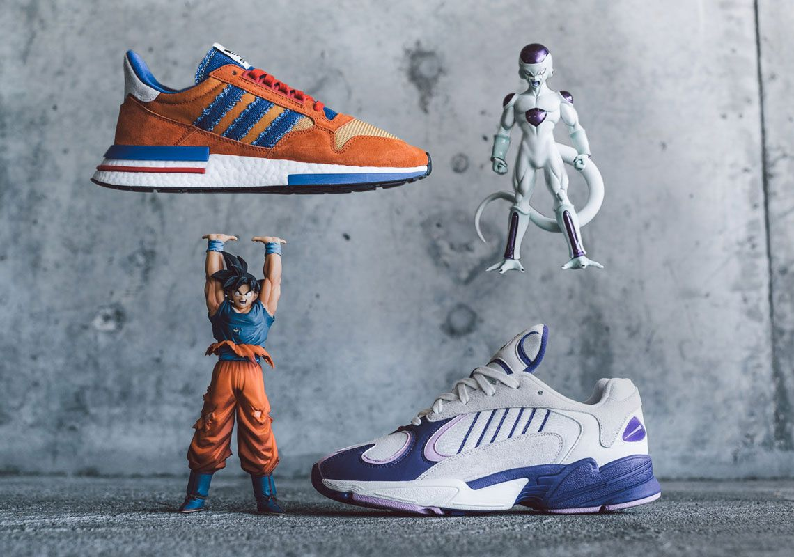 "Adidas x Dragon Ball Z ZX 500 RM ""Goku"" & Yung 1 ""Frieza"""