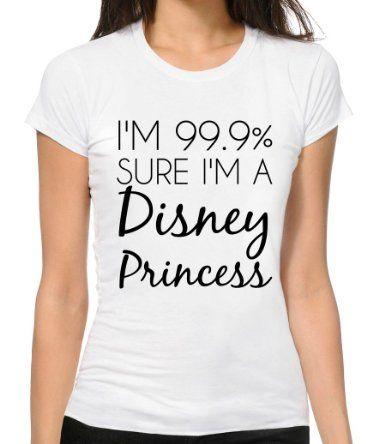 You need this Haley~I Am Disney Princess Funny Slogan T ...