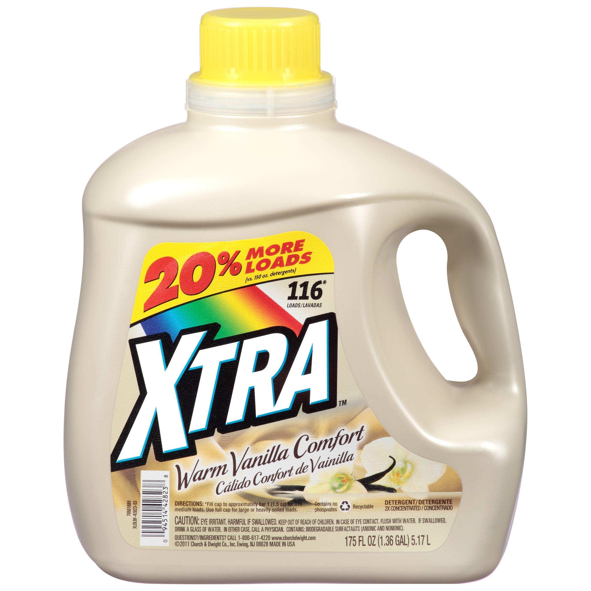 Xtra Fabric Conditoner Laundry Detergent Laundry Soap Dollar