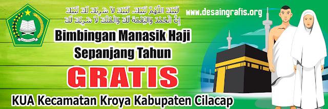 Desain Banner Bimbingan Manasik Haji Sepanjang Tahun KUA ...