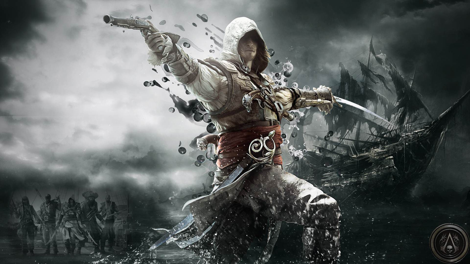 Photoshop Projects Assassins Creed Black Flag Assassin S Creed