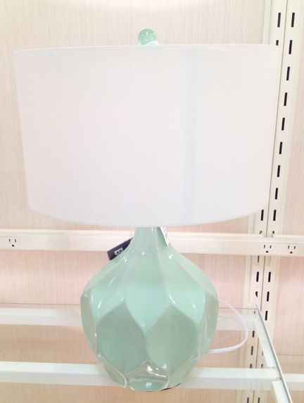 Mint green mid century modern table lamp at home goods nesting mint green mid century modern table lamp at home goods mozeypictures Image collections