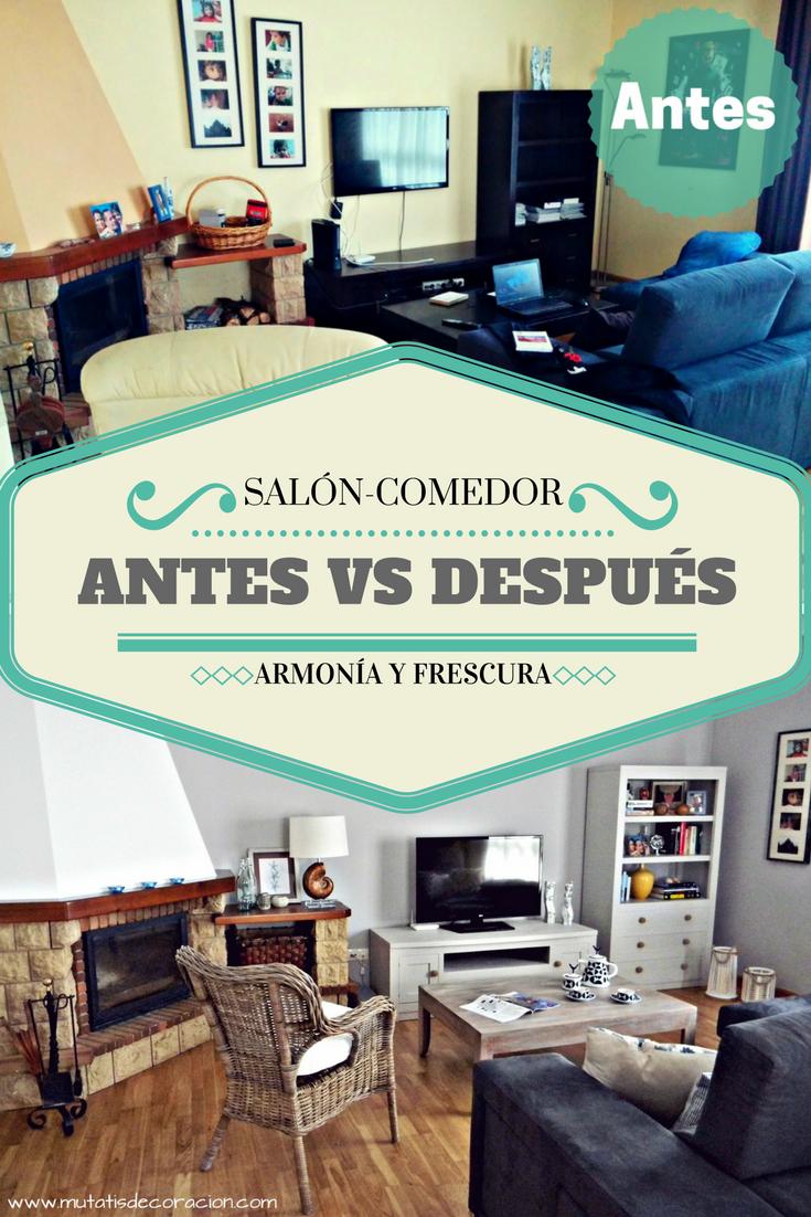 Como Decorar Un Salon Comedor Sin Cambiar Los Muebles Crea Tu Plan Ya Salon Comedor Decorar Salon Salones