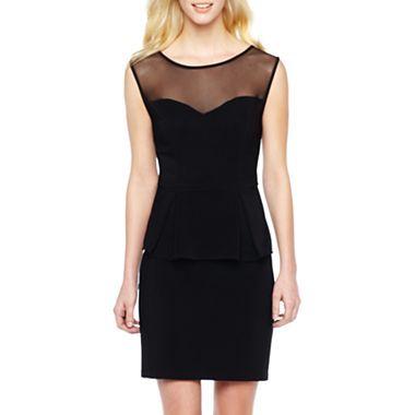428dc5d6984 Fashion · Bisou Bisou® Keyhole Peplum Dress - jcpenney