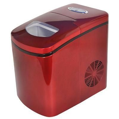 Port Countertop Ice Maker Red Countertops Home Depot Red