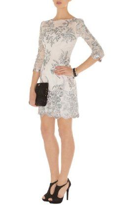 Karen Millen Lace and Embroidery Dress