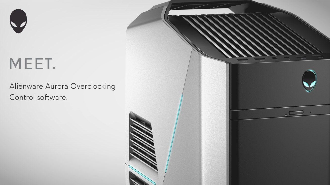 Alienware Aurora R5 & R6 desktop #overclocking software
