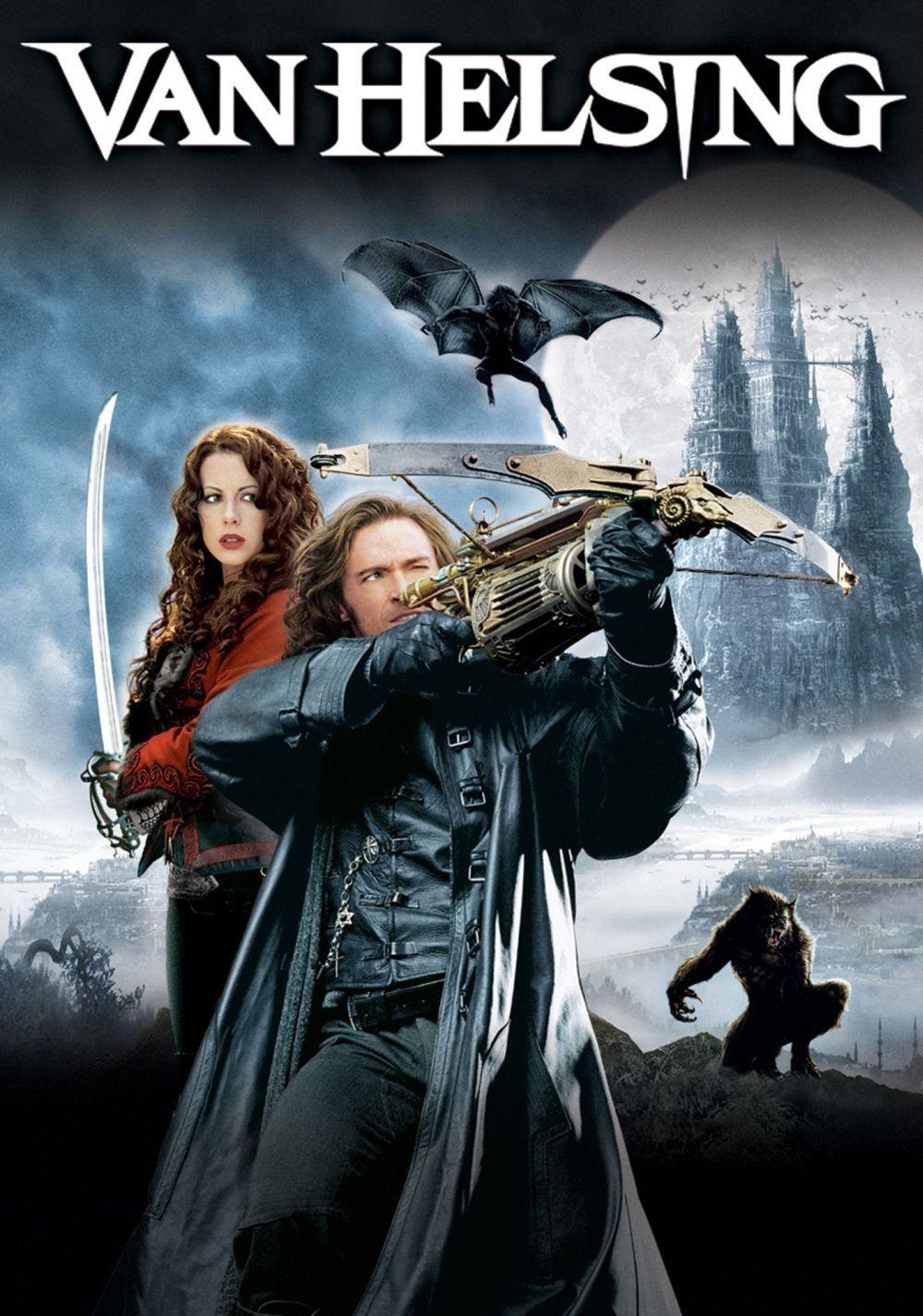 Van Helsing Review Legendary Monster Hunter Van Helsing Hugh Jackman Is Sent To Mysterious Transylvania From He Vampire Movies Love Movie Favorite Movies