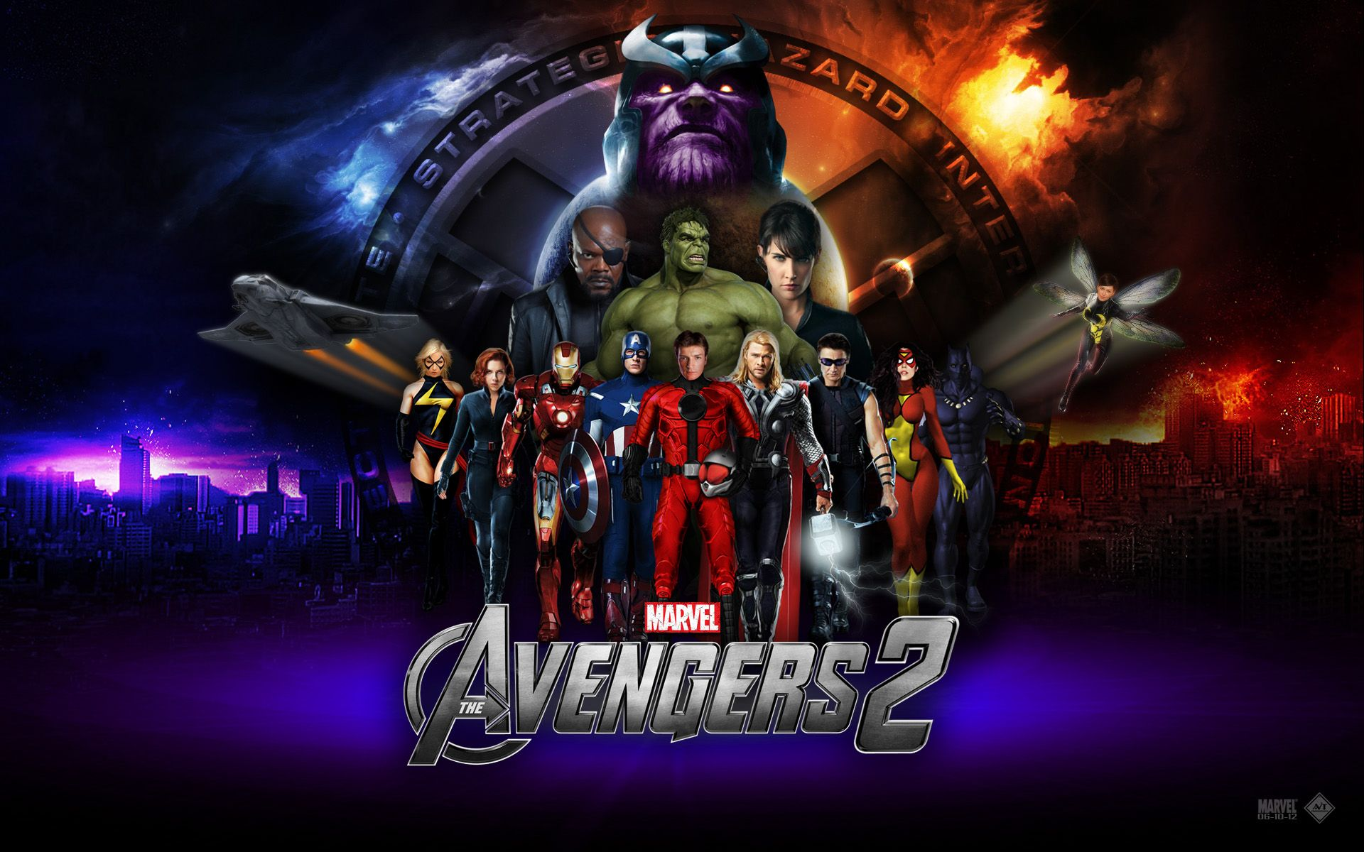 Collection of The Avengers Wallpaper on HDWallpapers 1280