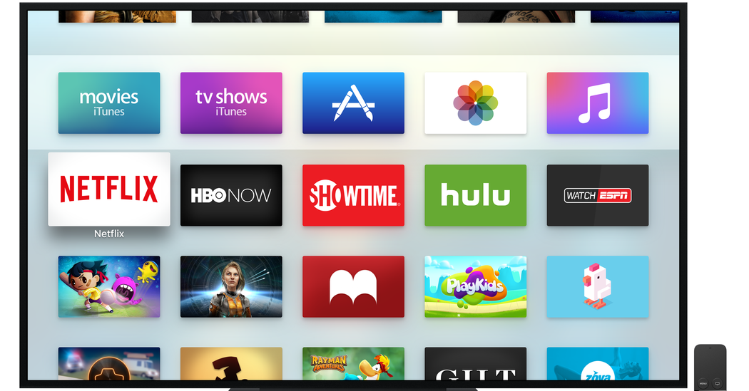 The New Apple TV Invigorates the SetTop Box Apple tv