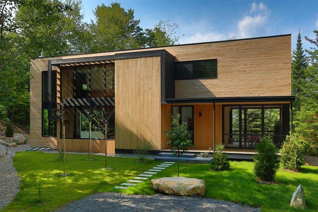 casa pequeña en madera Fachadas Pinterest Casas pequeñas - fachada madera