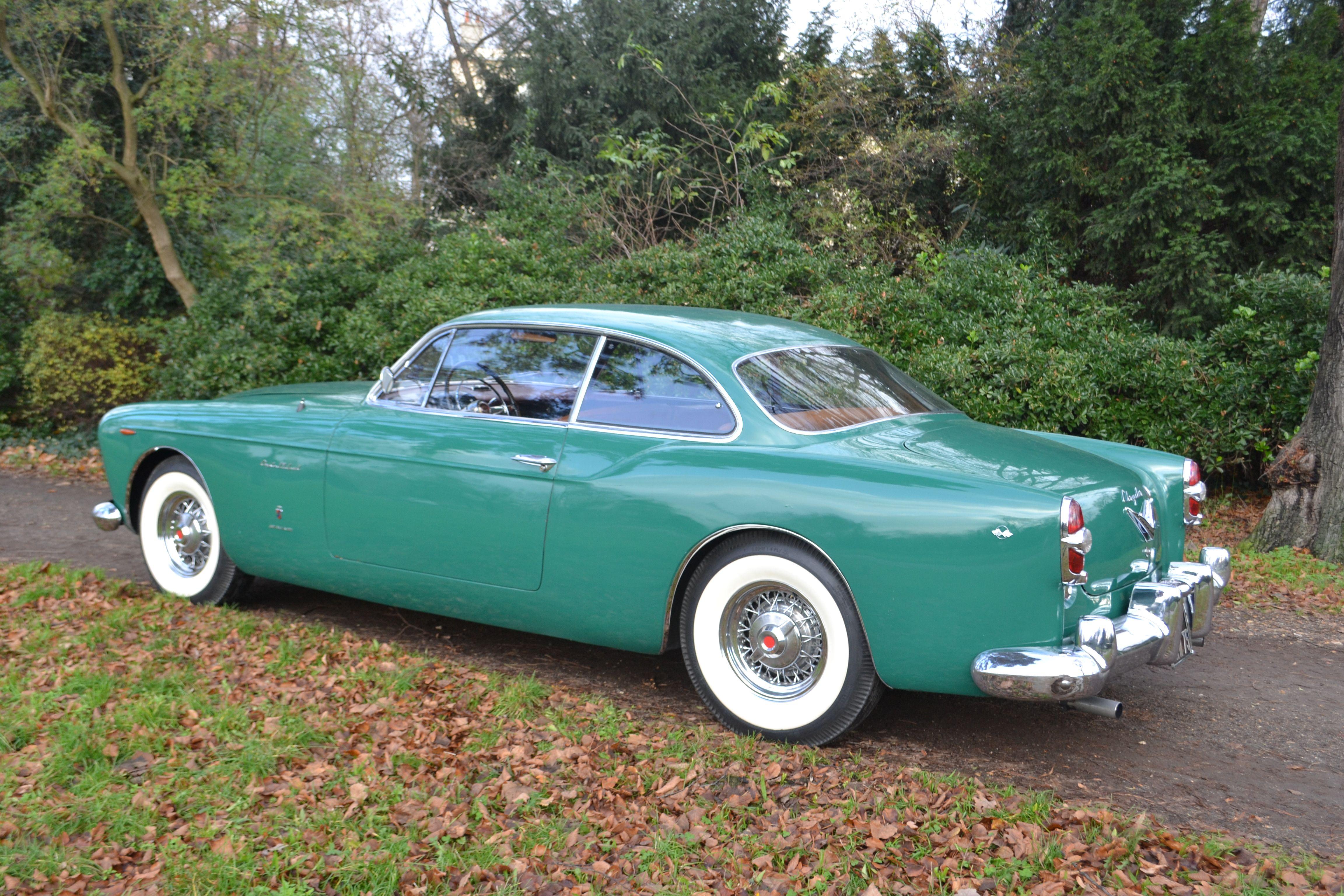 Rare Chrysler Ghia ST Special 1954-55 Italian delivery via Chrysler agent Autofamosa. 1 of 2 known to survive. Ghia Torino.