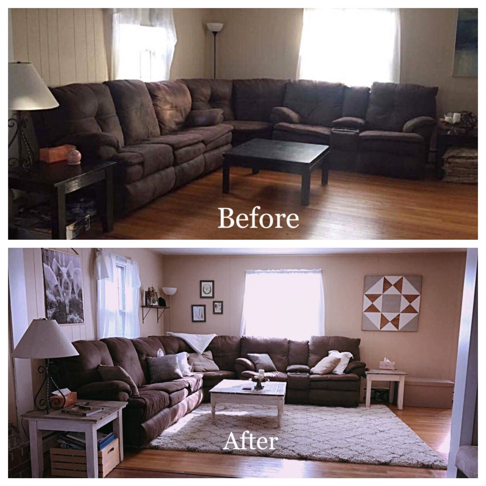 captivating country living rooms brown couches | See the source image in 2019 | Dark wood floors living ...
