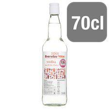 Everyday Value Vodka 70cl Tesco Groceries Vodka Online Supermarket