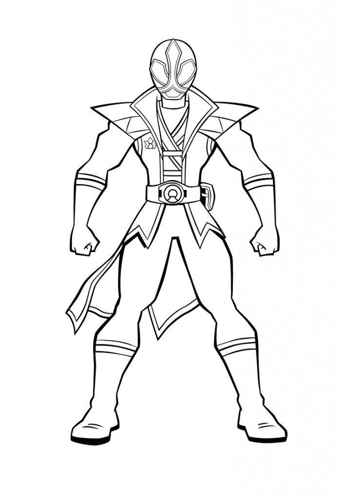 Power Rangers Coloring Pages Free Superheroes Coloring