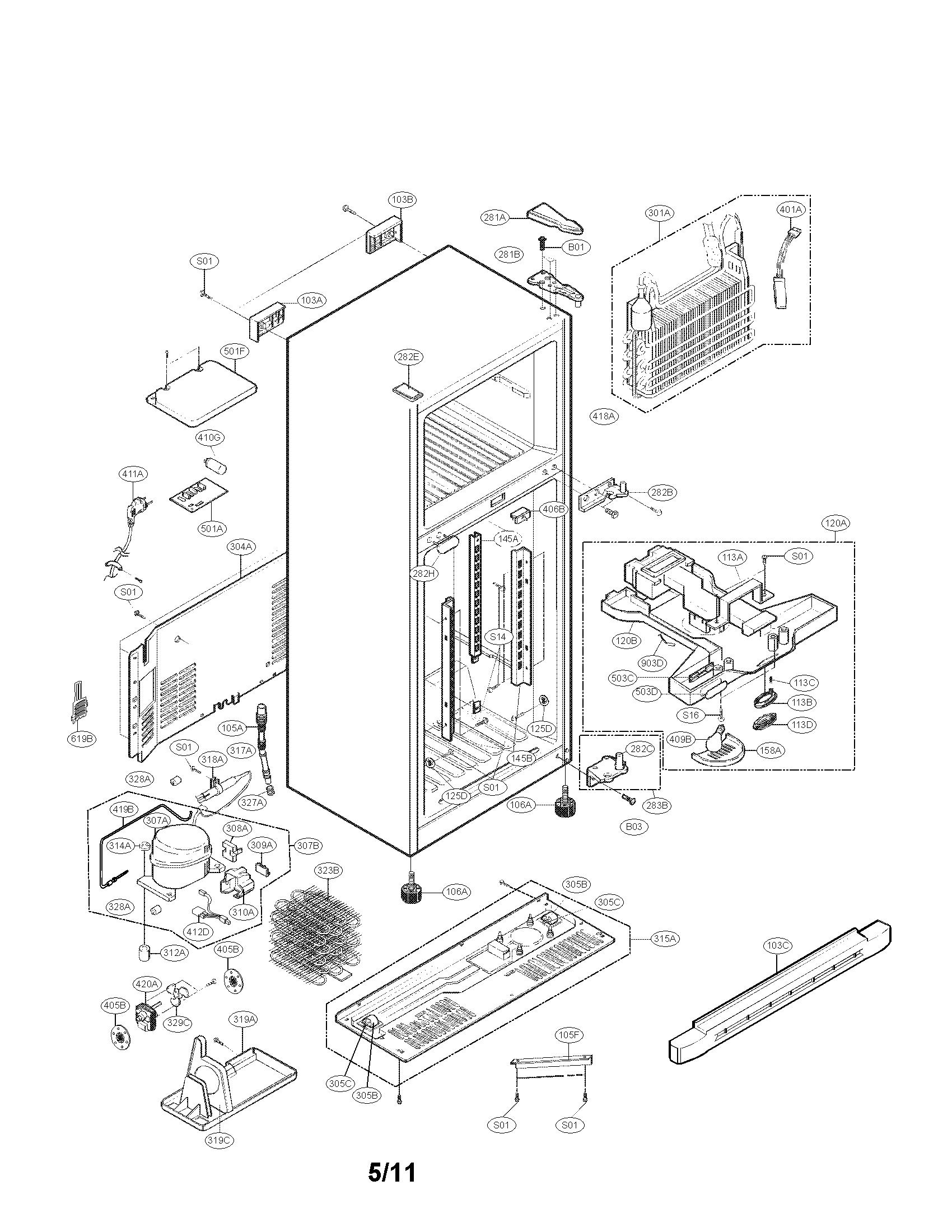 Case Parts Diagram  U0026 Parts List For Model 79579293902