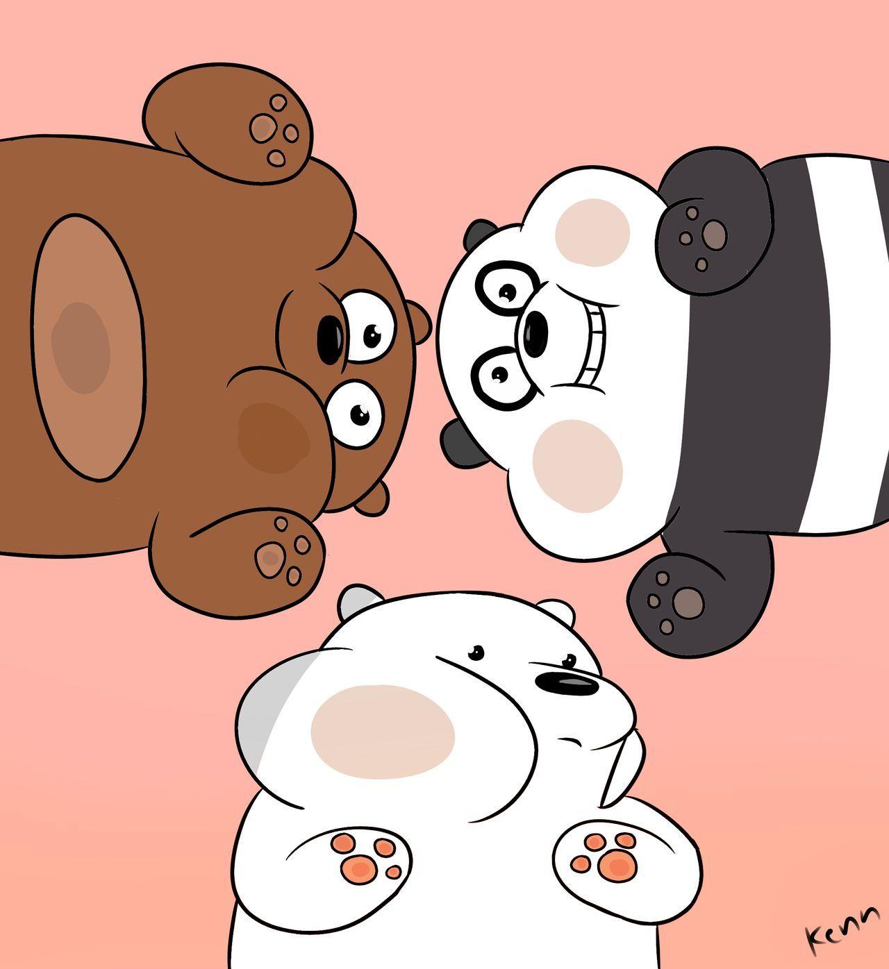 We Bare Bears By Rooooop On Deviantart We Bare Bears Wallpapers Bear Wallpaper Ice Bear We Bare Bears