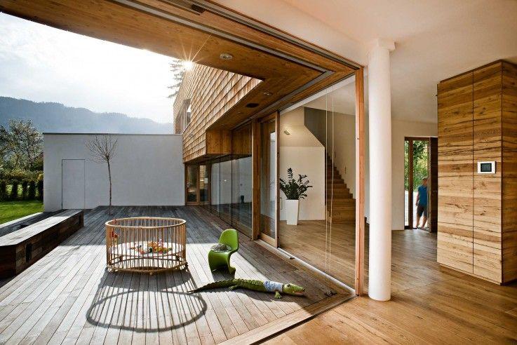 das haus lebt vom intensi ven be zug zum au en raum je des fens ter je der aus tritt jede ter. Black Bedroom Furniture Sets. Home Design Ideas