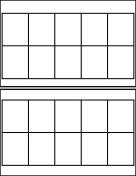 Ten Frame Templates School Pinterest Ten Frames Maths And